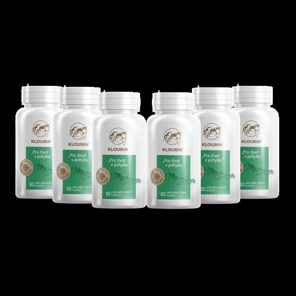 kloubin - kĺbová výživa - 6 balenia